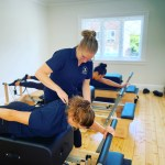 Pilates reformer at Rozelle Physio