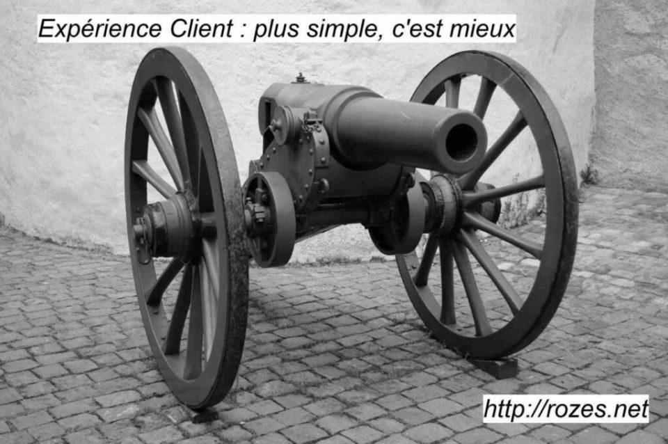 Simplicité et rapidité améliorent l'Expérience Client.