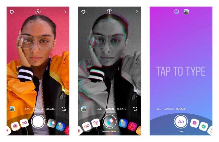 обновленная камера Instagram