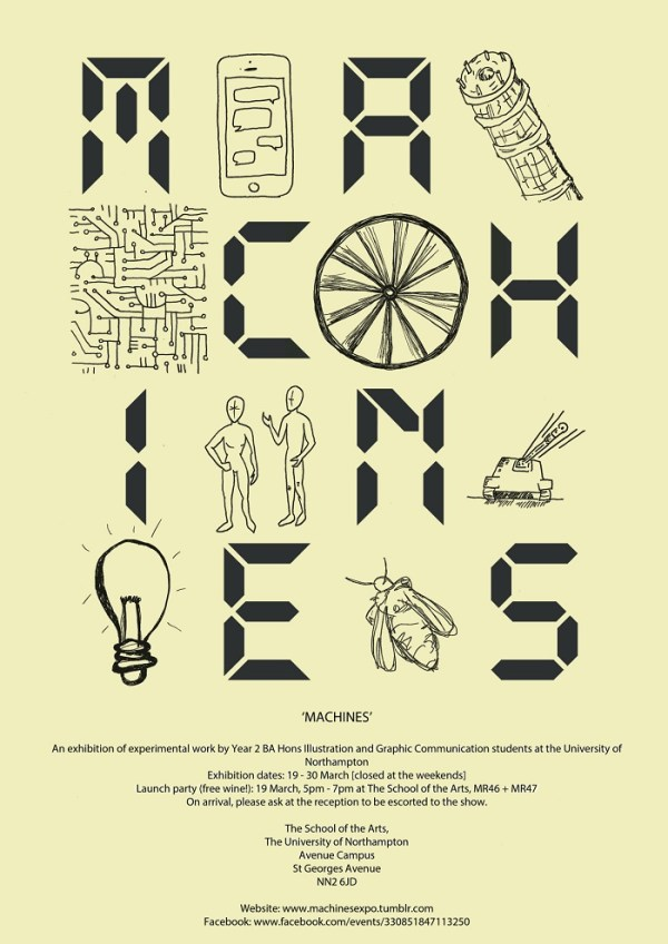 Machines Exhibition - Opens this week!