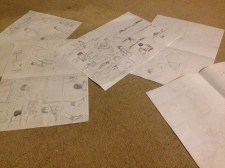 Pencil roughs - complete!
