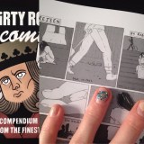 My 'Rejsen' comic is published in Dirty Rotten Comics #5