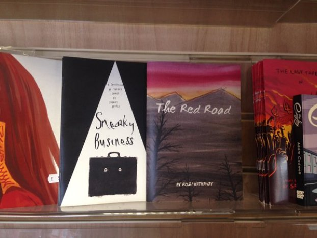 Sneaky Business hits more shelves next to The Red Road..