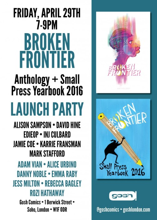 Broken Frontier Launch Party