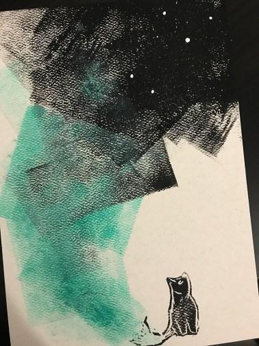 Njálla Lino Print