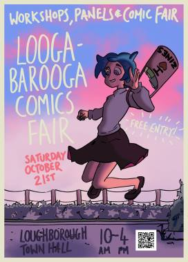 Loogabarooga Comics Fair - This Saturday!