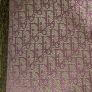New! Designer Jaquard Cotton Fabric Tapestry Dior Brocade Woven Fabric/ Haute Couture Jacquard Upholstery/Fashion Jacquard Tapestry PINK