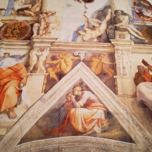 Sistine Chapel on the fabric