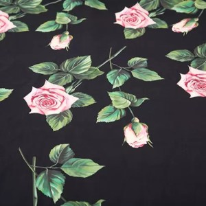 Dolce Gabbana Cotton fabric #2 New Collection available in white background and in silk/Fashion week DG fabric