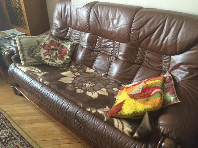 kanapa rozmowy z babcia