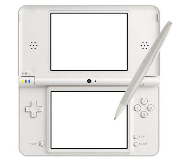 DSi XL Natural White