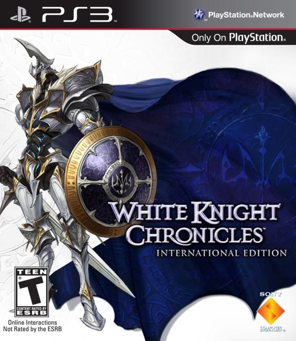 White Knight Chronicles box art