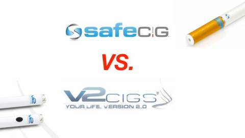 Vaping Diaries #1: Safe Cig vs. V2 Cigs