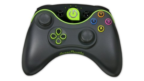 Green Throttle Android Gaming System Arrives