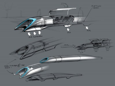 Elon Musk Posts 57 Pages of Hyperloop Magic (PDF)