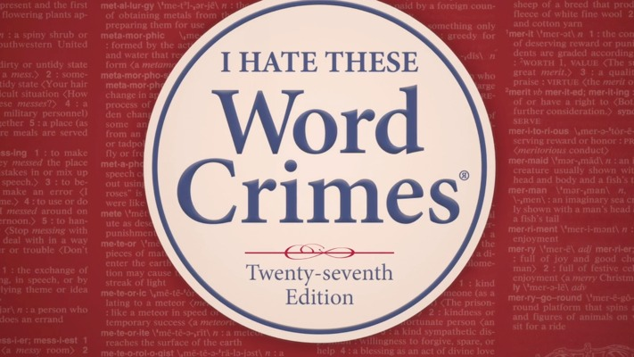 Weird Al Word Crimes