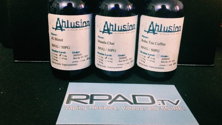 Ahlusion JG Blend, Masala Chai, Boba Tea Coffee