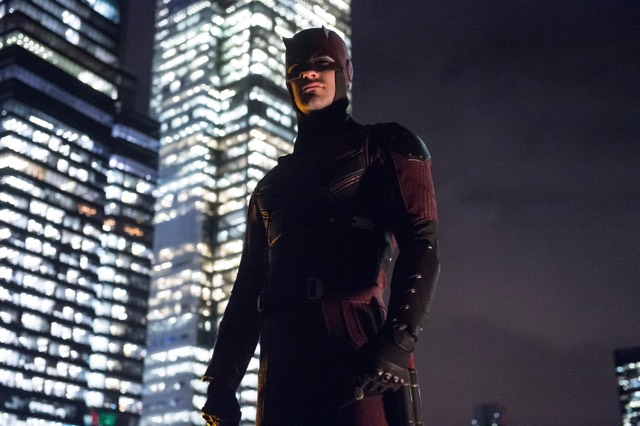 Daredevil Netflix red costume