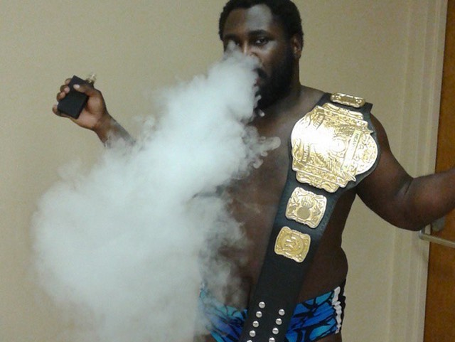 Willie Mack Pro-Wrestler Vaper