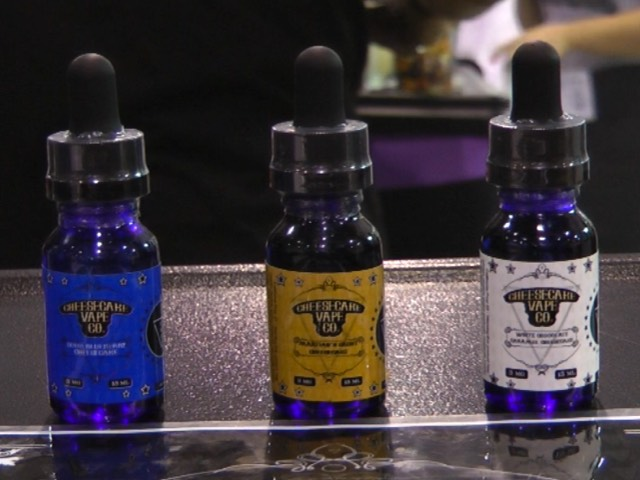 Vaping Diaries #320: Cheesecake Vape Co Interview (ECC 2015)