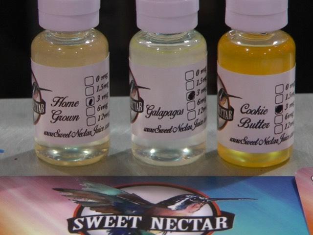Vaping Diaries #334: Sweet Nectar Juice Interview (ECC 2015)