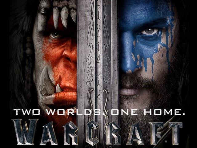 WarCraft movie logo