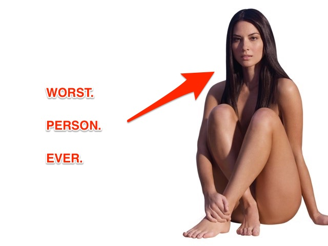 Olivia Munn is the Worst, Exhibit Q: Lying About Her Stunts