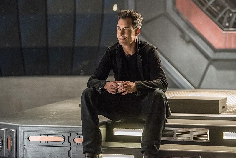 The Flash S03E03 Harry Wells