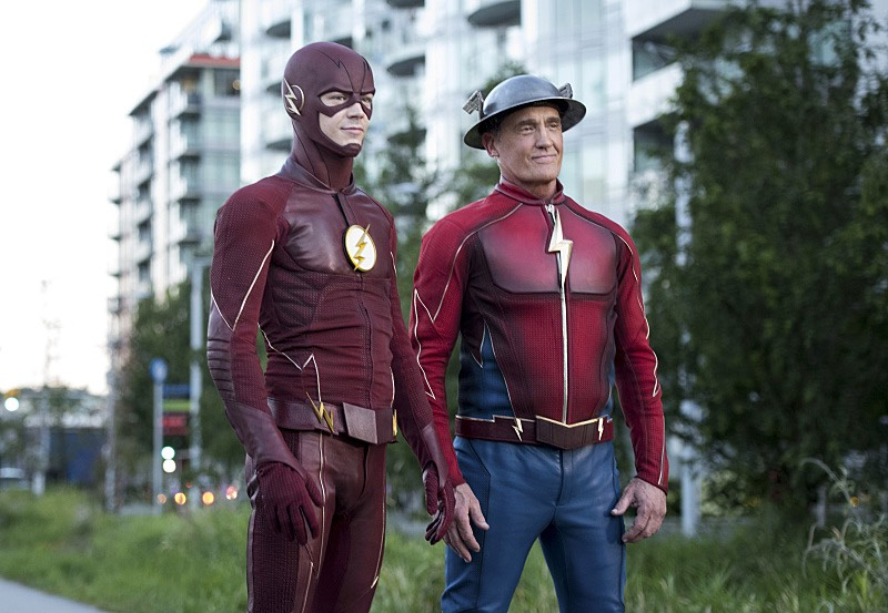 The Flash S03E02 Jay Garrick