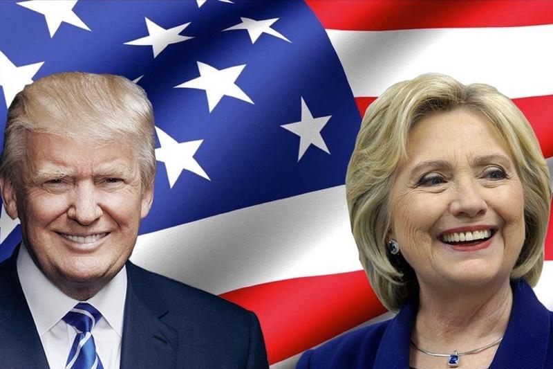 Trump vs Clinton politics