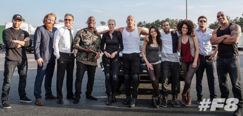 Fate of the Furious cast
