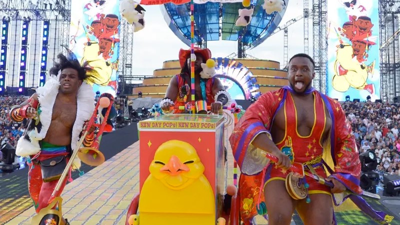 New Day Rocks WrestleMania 33 With Final Fantasy