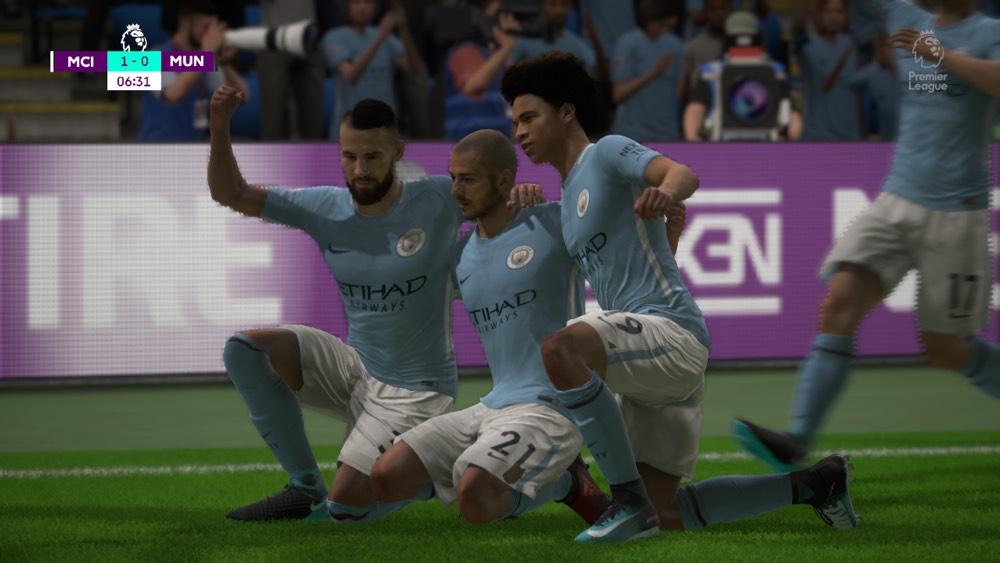 Man City FIFA 18