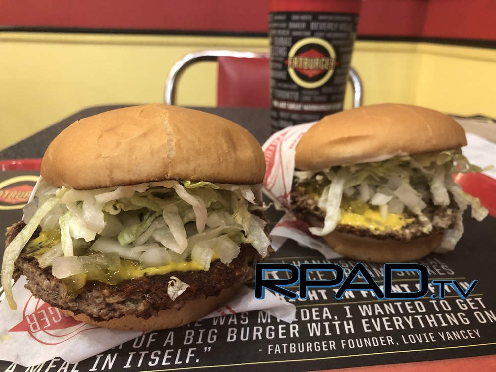 Fatburger Impossible Burger Review (Plant-Based Hamburger)