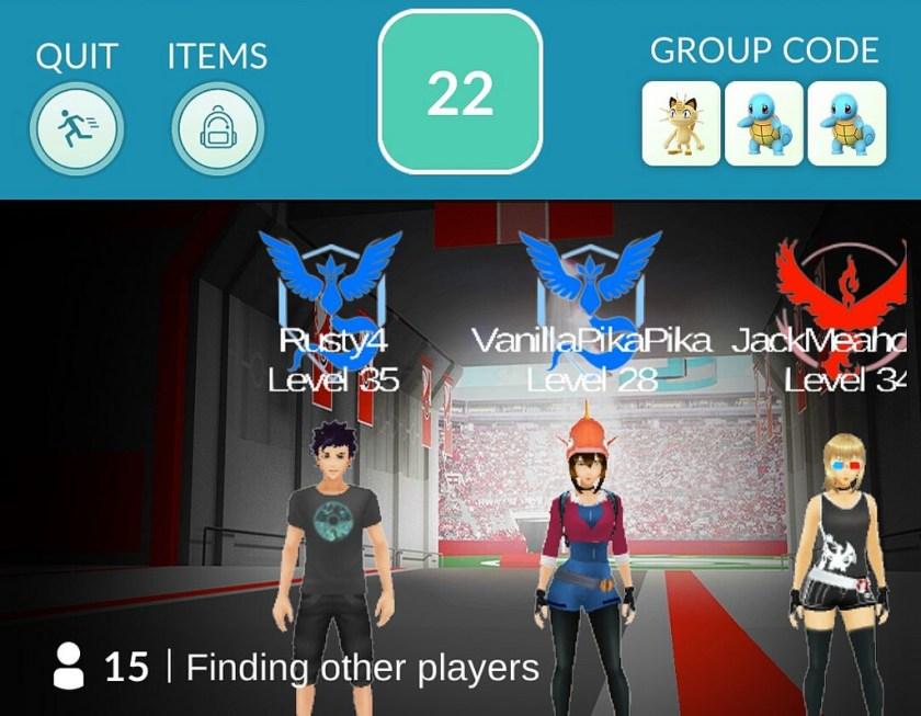 Pokemon Go Pokemusings raid partners
