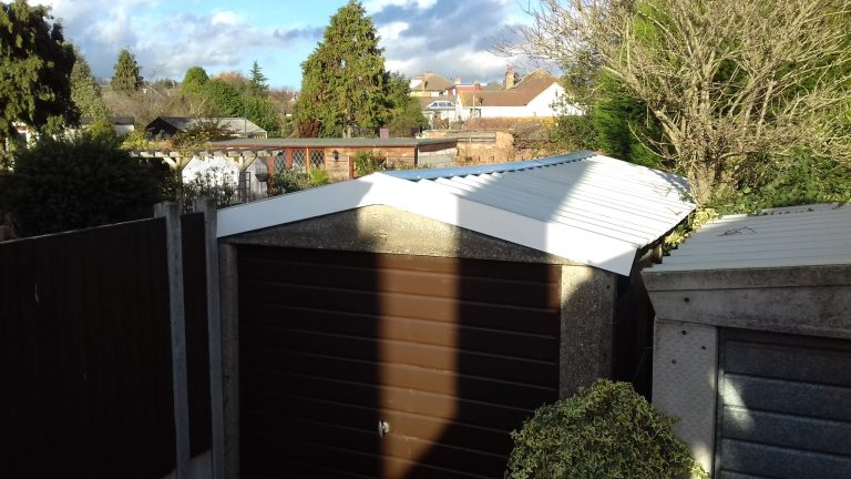 Garage re roof front after scaled - Garage Roof Replacement