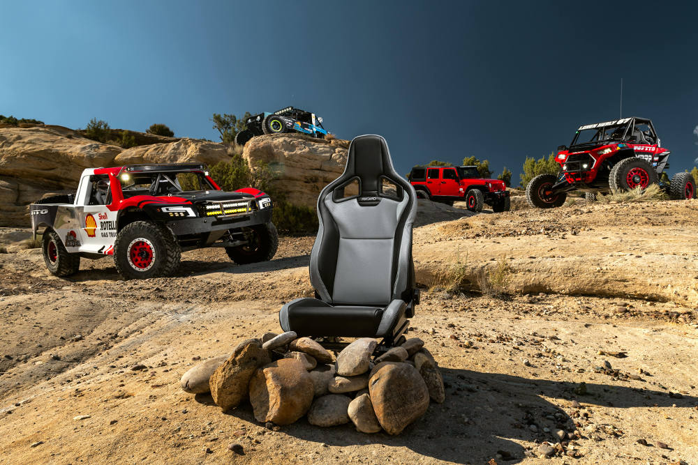 Backets Recaro ORV