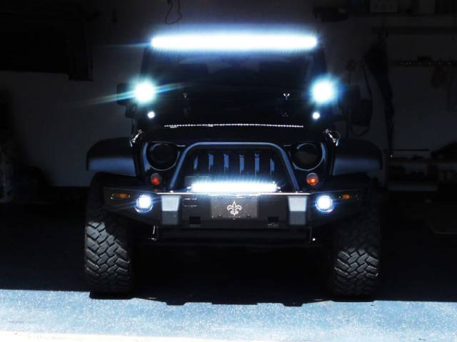 Iluminacao Exterior Jipes - TT - 4x4