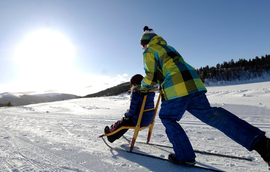 Click the photo to watch a video on how to setup the kicksled.