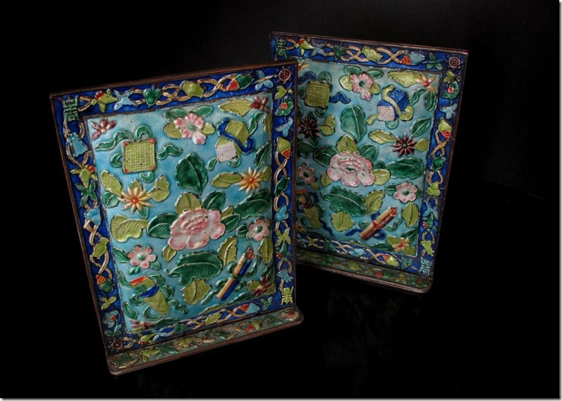 Chinese Cloisonne Ornaments
