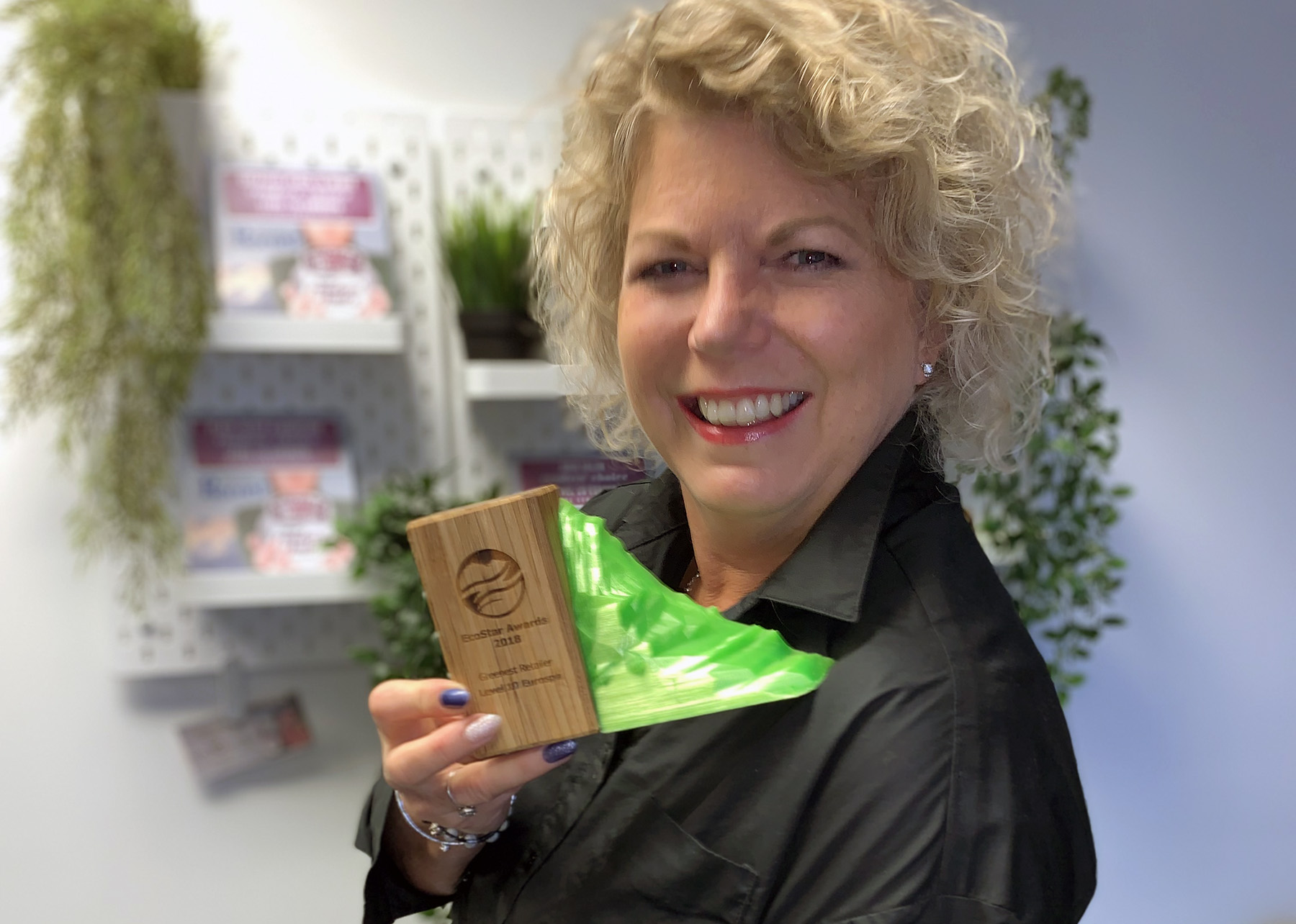 Courtenay Salon Named Vancouver Island's 'Greenest Retailer'