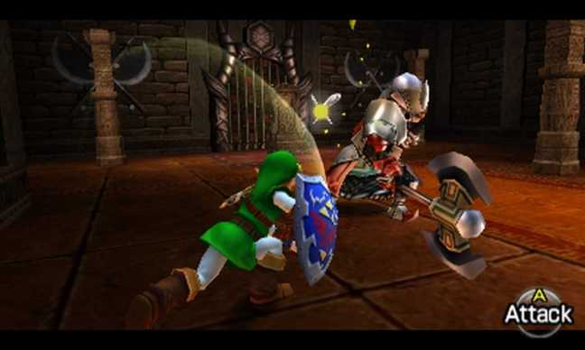 ocarina of time attack