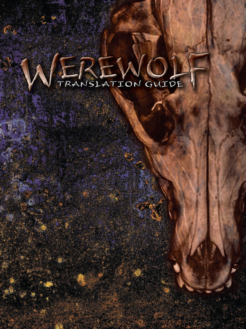 Werewolf Translation Guide Cover