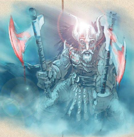 Ghostly viking raiders?!