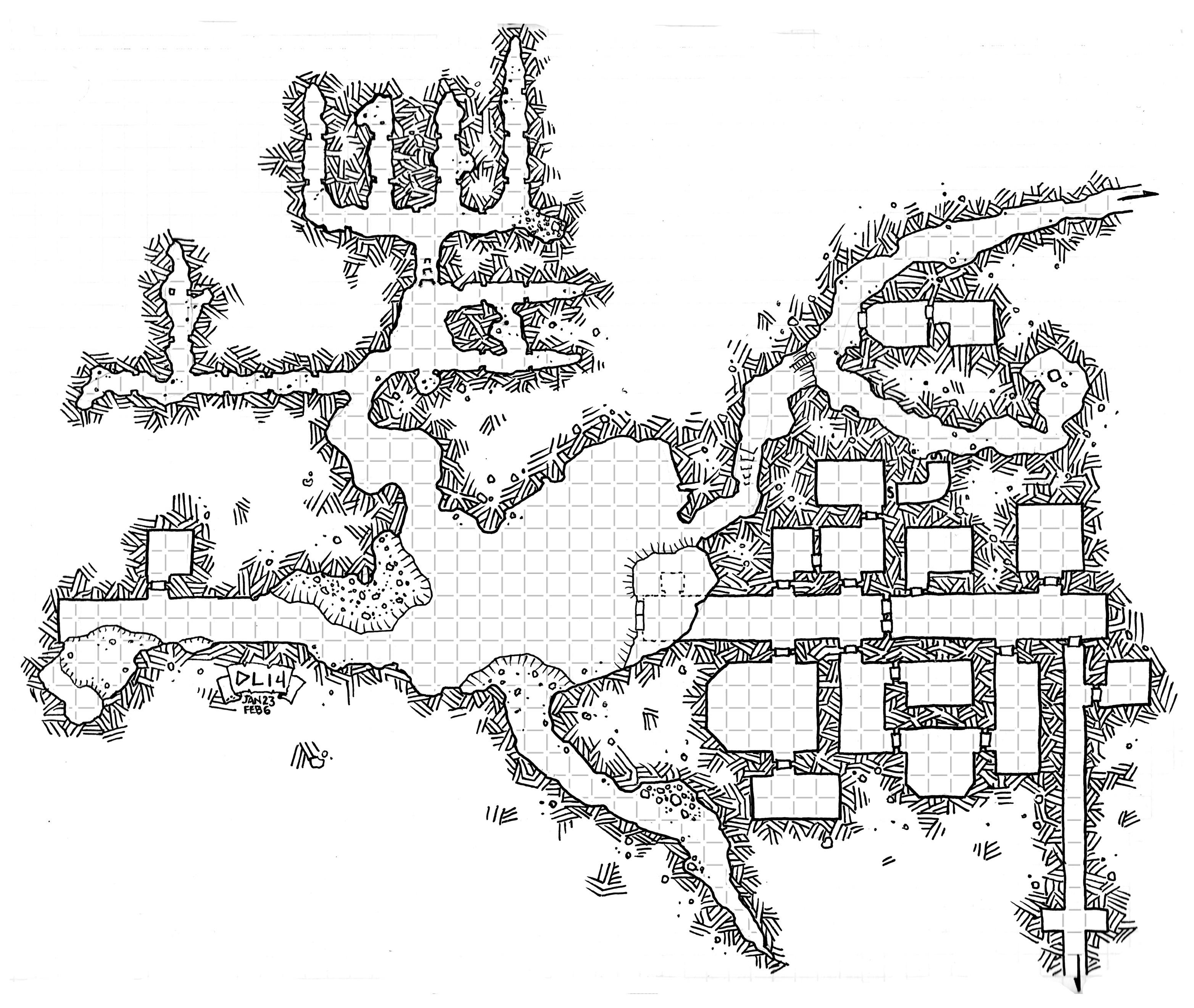 Dwarven Mines Map Updated