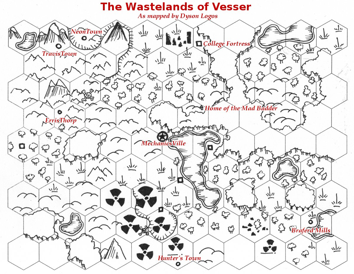 Friday Map Instant Wasteland Just Add Dice