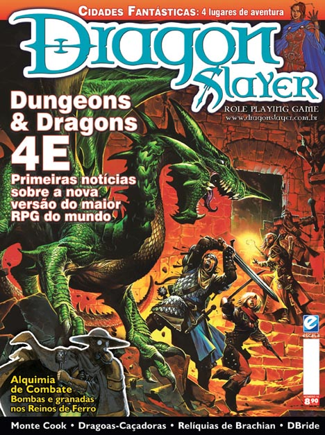 Eis a capa da DS 16. As especulações já começaram tanto no fórum Revista Dragonslayer da Editora Jambô quanto na comunidade Revista Dragon Slayer OFICIAL do Orkut. O Rocha, do […]