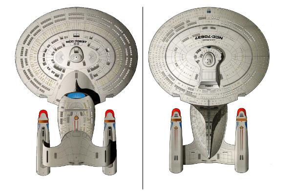 Miniatura da Enterprise 1701 D