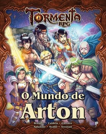 Capa da caixa O Mundo de Arton