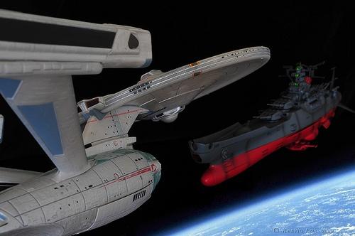 Enterprise vs Yamato